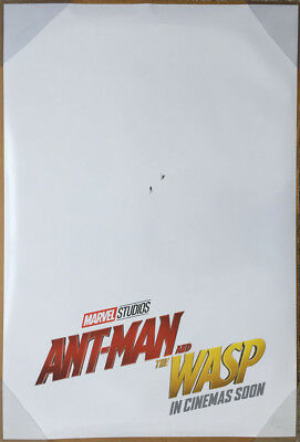 ANT-MAN AND THE WASP MOVIE POSTER 2 Sided ORIGINAL INTL Advance NM 27x40