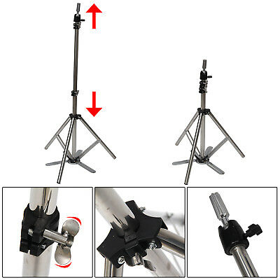 Adjustable Salon Tripod Hairdressing Training Stand Hair Mannequin Head Holder