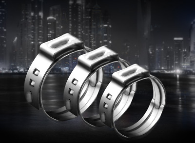 Ear Hose Clamps CRAMP  Stainless Steel