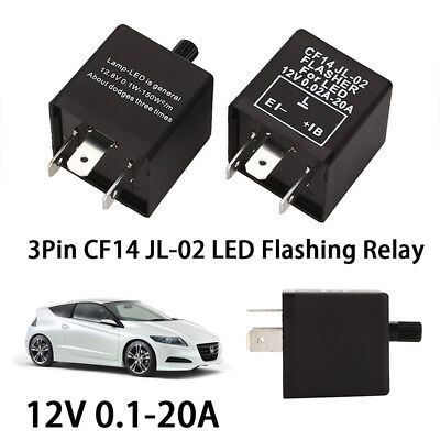 Flasher Relay Start Relay Durable Fix Turn Signal Hyper Flash Auto Accessories