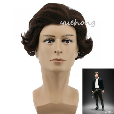 Solo: A Star Wars Han Solo Cosplay Wig Short Synthetic Fashion Costume Wig