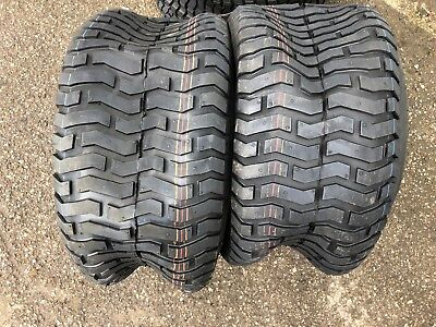 2 x 18x8.50-8 Ride on Mower Turf Tyres 4PR TL Deli S-365 - TWO TYRES