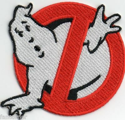 Ghostbusters ecusson brodé logo No ghost neuf Ghostbusters logo patch