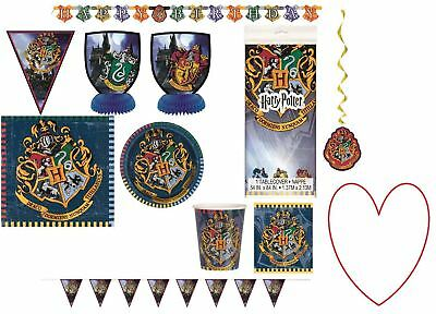 Harry Potter tableware decorations plates cups birthday party accessories
