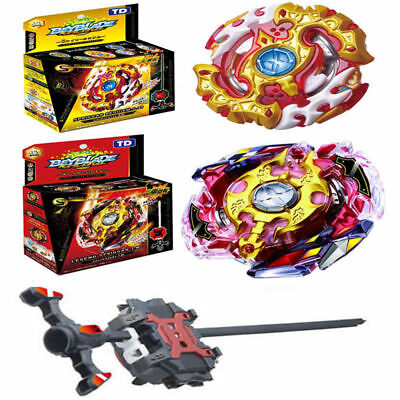 4D Beyblade Metall Masters  Fury 4D Top Arena Burst Starter mit Launcher in Box