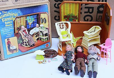 The Sunshine Family Lot Gramps Mom Dad Baby Room Furniture Rocking Chair Bassine