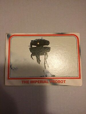 1980 VINTAGE SCANLENS - Star Wars Empire Strikes Back Trading Card Number 12