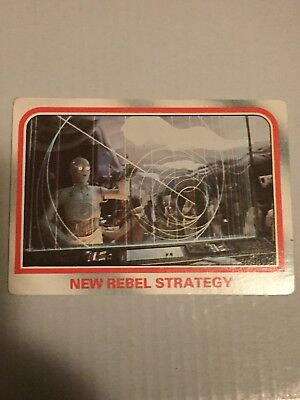 1980 VINTAGE SCANLENS - Star Wars Empire Strikes Back Trading Card Number 17
