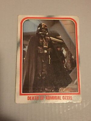 1980 VINTAGE SCANLENS - Star Wars Empire Strikes Back Trading Card Number 34