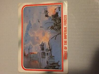 1980 VINTAGE SCANLENS - Star Wars Empire Strikes Back Trading Card Number 42