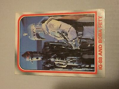 1980 VINTAGE SCANLENS - Star Wars Empire Strikes Back Trading Card Number 75