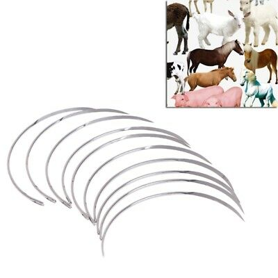 1 Bag Suture Needle Semicircle Poultry Medical Veterinary Cattle Sheep The Beast