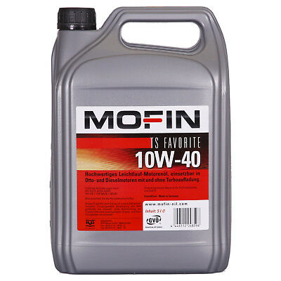 Mofin TS Favorite 10W-40  5 Litres Jerrycans