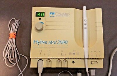 Nice! ConMed Hyfrecator 2000 Electrosurgical Unit 7-900-115, Warranty!