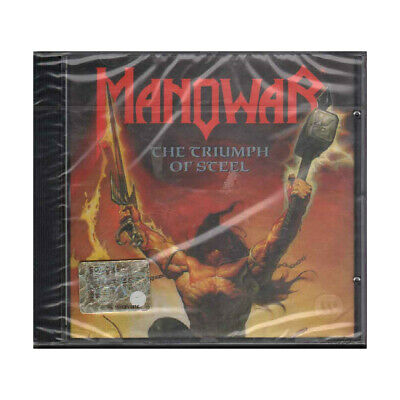 Manowar CD The Triumph Of Steel / Atlantic ‎Sigillato 0075678242328