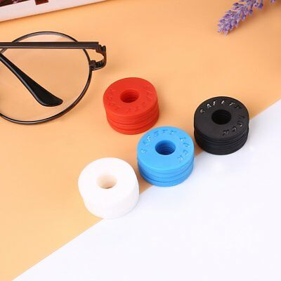 Replacement 4Pcs Guitar Strap Locks Silicone Soft Anti Slip Tail Nail Buckle