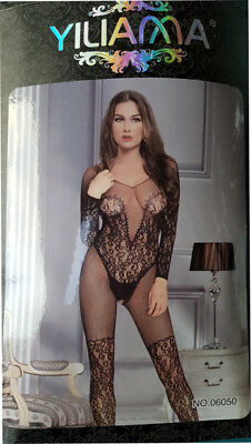 Hot Reizwäsche Fishnet Body Stocking Catsuit Netz Body Unterwäsche |H| 79986-2