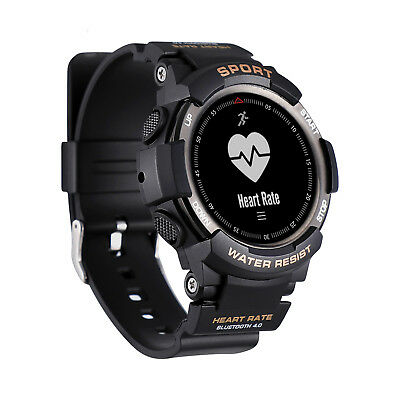 F6 Sports Smart Watch IP68 Waterproof Bluetooth Heart Rate Running Swimming GPS