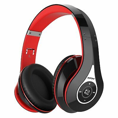 Mpow 059 Wireless Bluetooth Headset HiFi Stereo Over Ear Foldable Headphone Mic