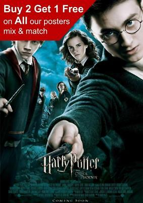 Harry Potter And The Order Of The Phoenix Movie Poster A5 A4 A3 A2 A1