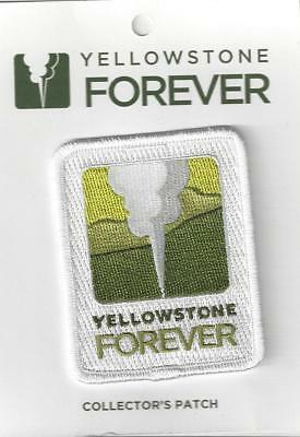 Official Yellowstone National Park Souvenir Yellowstone Forever Patch