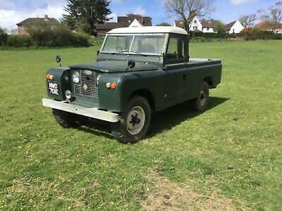"""Earliest Known 6 Cylinder 2a 109"""" Land Rover - Overdrive - Highly Original - 27K"""