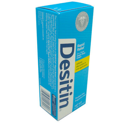 Desitin Rapid Relief Diaper Rash, Smooth and Creamy Ointment. 4 Oz / 113 g