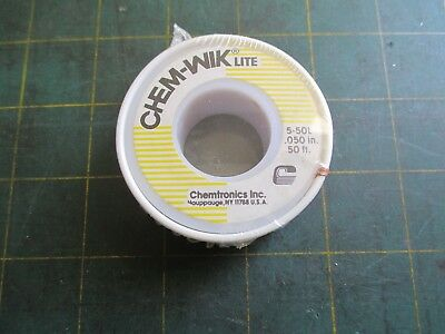 Hand Tools * Chem-Wik Lite * Chemtronics * 5-50L * .050 * 50 Ft