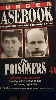 Murder Casebook Issue 41 - The Poisoners, Maybrick and Seddon
