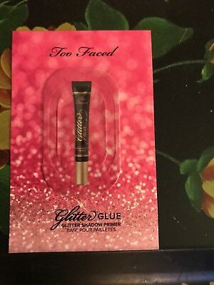NEW Too Faced Glitter Glue Eye Shadow Primer Single Use Sample Authentic
