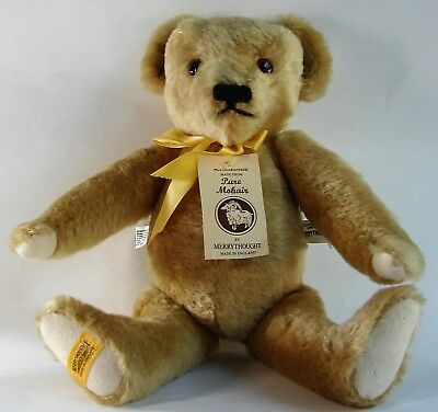 "Merrythought 15"" Mohair Jointed Bear Limited Edition Made In England Tags"