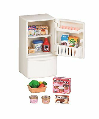Epoch Japan Calico Critters furniture refrigerator set for Sylvanian Families