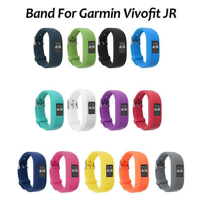 Replacement Silicone Sports Watch Strap For Garmin Vivofit JR Tracker Wrist Band