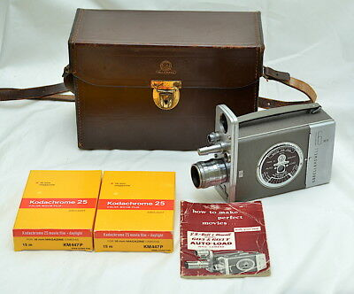 Bell & Howell 603T 16mm Cine Camera with Taylor Hobson 1 inch1.9 C mount Lens