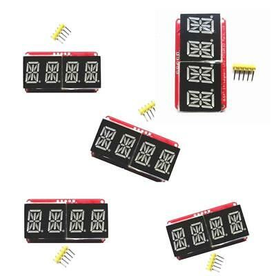 5 Pieces 0.54inch 4Bits Digital Tube LED Display Module Red Tube for Arduino