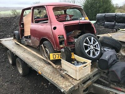 1987 Austin Mini Mayfair Auto 2 Door Petrol - Spares or Repair Project with V5C