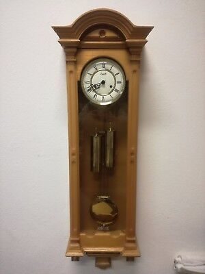 PENDULUM CLOCK Zaeler WALL wall 110 cm (h) oak WORKING