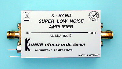 KU LNA 922 B, Super Low Noise Amplifier 9190 ... 9210 MHz Vorverstärker