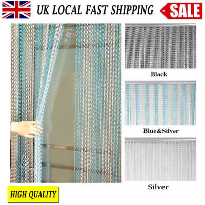 High Quality Aluminium Metal Fly Curtain Screen Chain Link Door Insect Control