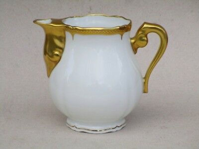 Porcelaine De Limoges Boyer Service  A Cafe  Cremier Incrustation  Double Dorure