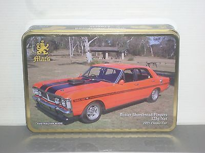 T1767 Collectable Mac's Classic Cars Tins New
