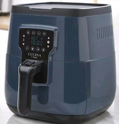 New Cucina By Giani 3l Retro Graphite Lcd Digital Air Fryer Low