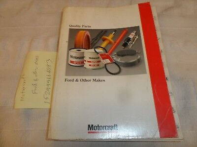Motocraft Catalogue Ford & Other Makes