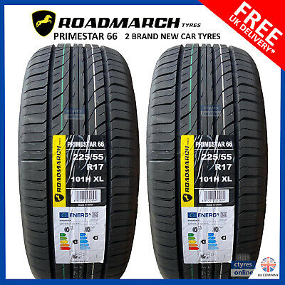 2 X New 225 55 17 AOTELI P607 101W XL 225/55R17 2255517 *B/B RTAED* (2 TYRES)