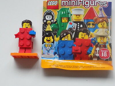 #02//17 Bagged 71021 LEGO Series 18 BRICK SUIT GUY
