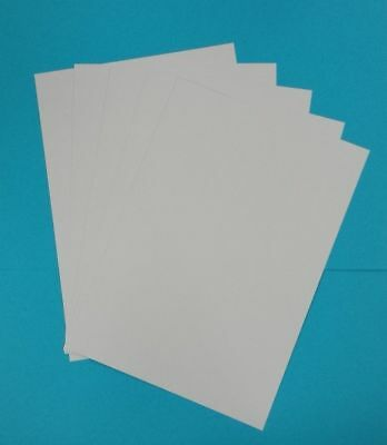 50  x A4 SMOOTH 350GSM THICK CRAFT CARD