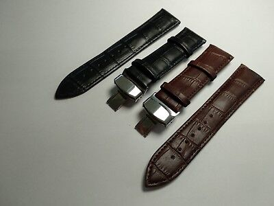 Genuine Leather Strap/Band fit Mido Watch CLASP 18 19 20 21 22 24 mm+free tools