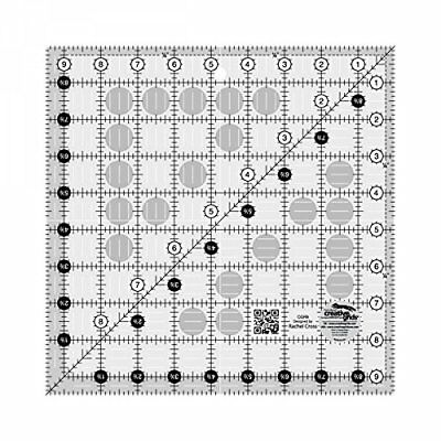 """Creative Grids 9.5"""" Square Quilting Ruler Template"""