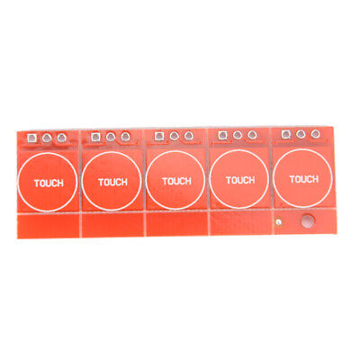 5Pcs TTP223 Capacitive Touch Switch Button Self-Lock Module for Arduino FF