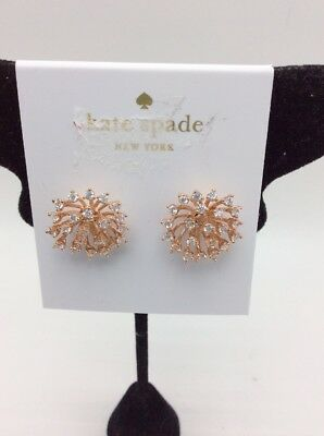 e644e106759cf KATE SPADE FLYING COLORS ROCK CANDY PINK STUD EARRINGS! For ...